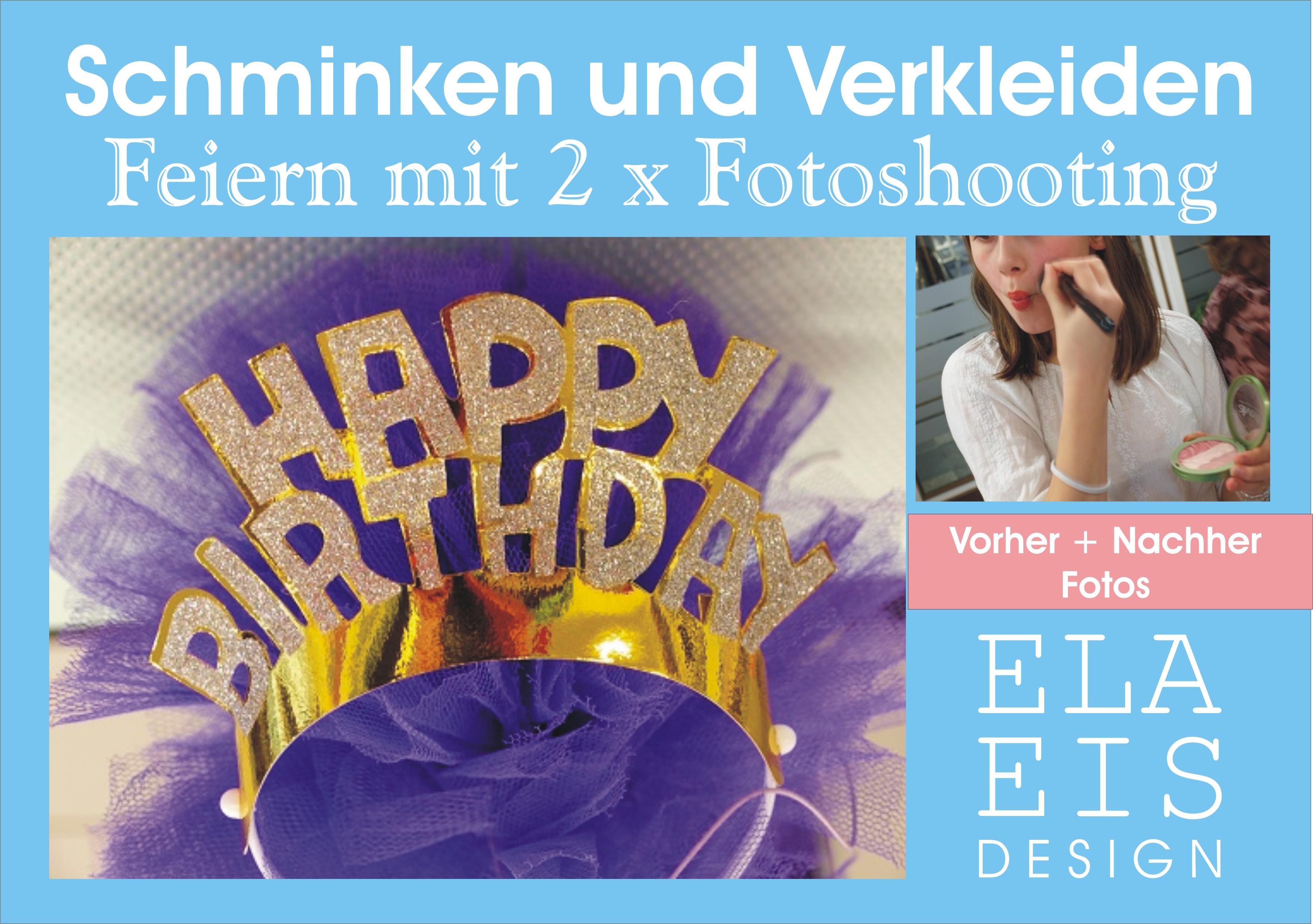 Teenagergeburtstag Schmink Party Mit Fotoshooting