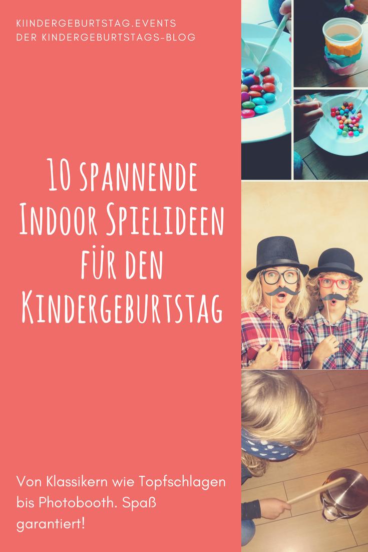 10 Spannende Indoor Spielideen Fur Den Kindergeburtstag Das Portal